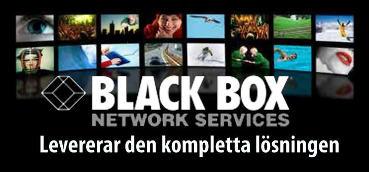 Black Box levererar den kompletta lösningen