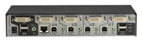 Wizard Multi-Head DL DVI KVM Switch, 4-Port