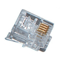 RJ11 Modular Connector - 4-Wire, for Stranded Wire