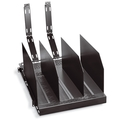 Sliding, Adjustable Tower Shelf with Fins