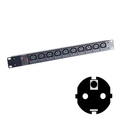 Individually Fused C13 Power Strips (Schuko Plug)