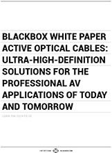 Active Optical Cable White Paper